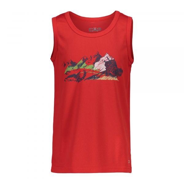 Cmp Boy T-Shirt Piquet Tanky
