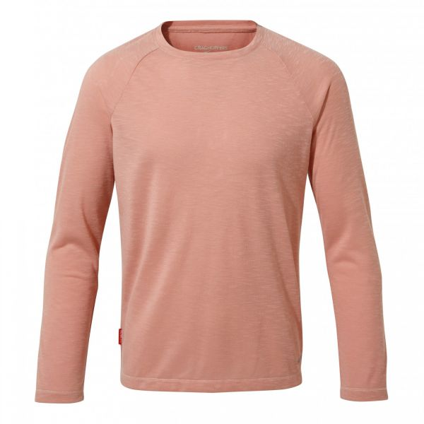 Craghoppers Girls Nosilife Paola Langarm-Shirt